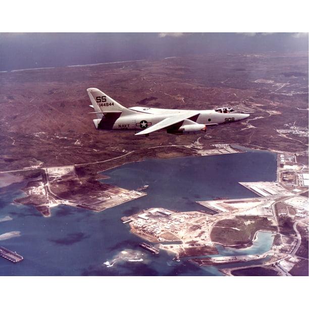 Of Heavy Photographic Reconnaissance Squadron 61 Vap 61 In Flight Over Naval Station Agana Guam Poster Print 20 X 30 Walmart Com Walmart Com
