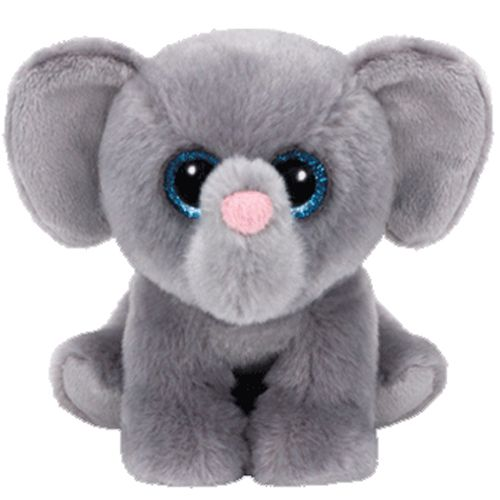 Whopper Elephant Beanie Baby - Stuffed Animal by TY (42119)