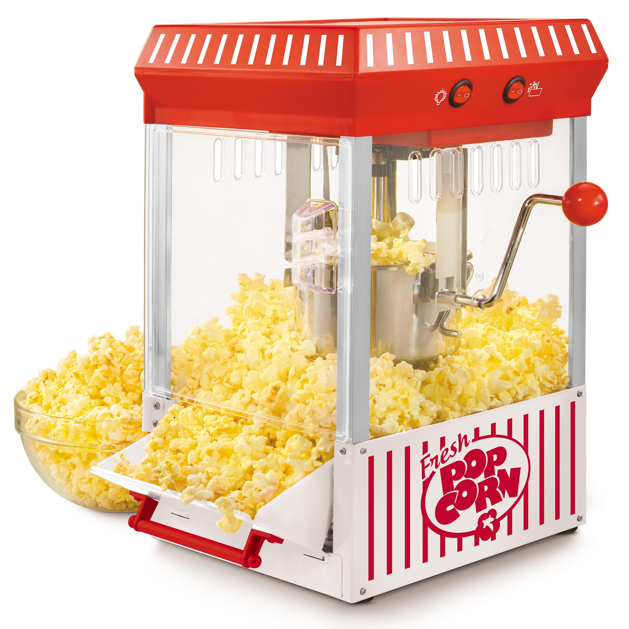 Nostalgia Kpm200 2 5 Ounce Tabletop Kettle Popcorn Maker Makes 10