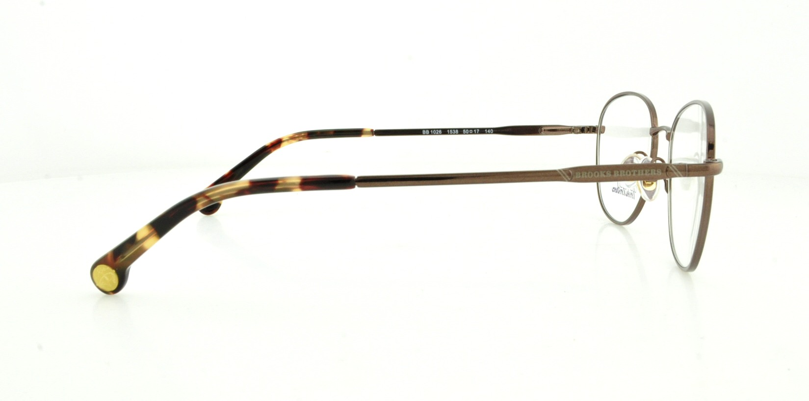 33528b66d3 BROOKS BROTHERS Eyeglasses BB 1026 1538 Brown 50MM - Walmart.com