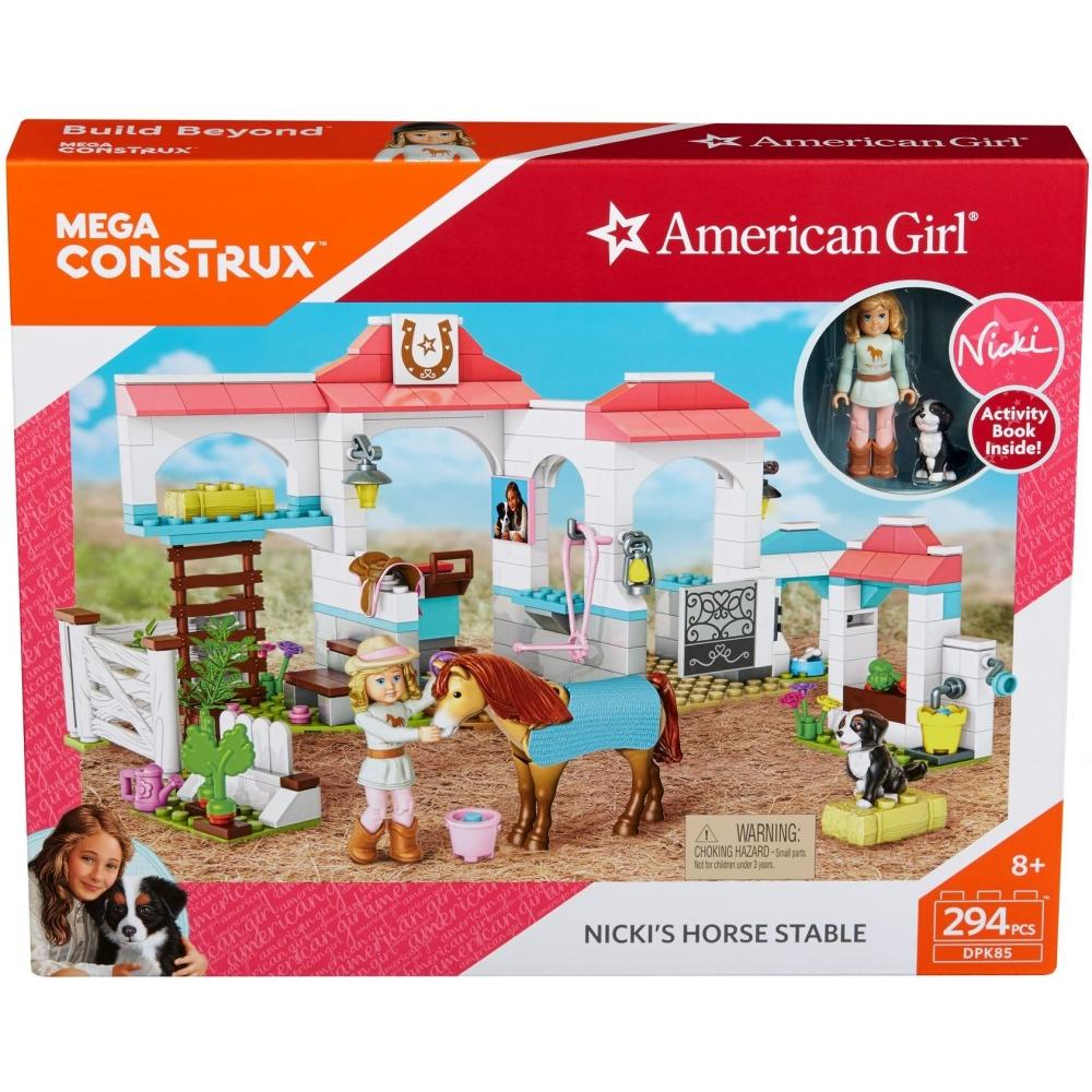 Mega Bloks American Girl Nicki's Horse Stables by MATTEL INC.