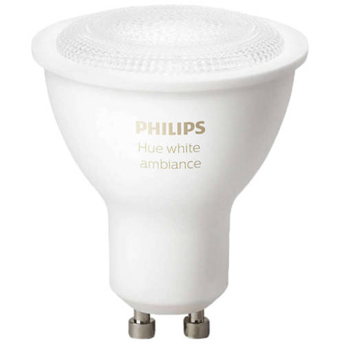 Philips Hue White Ambiance GU10 LED Single Bulb by Philips