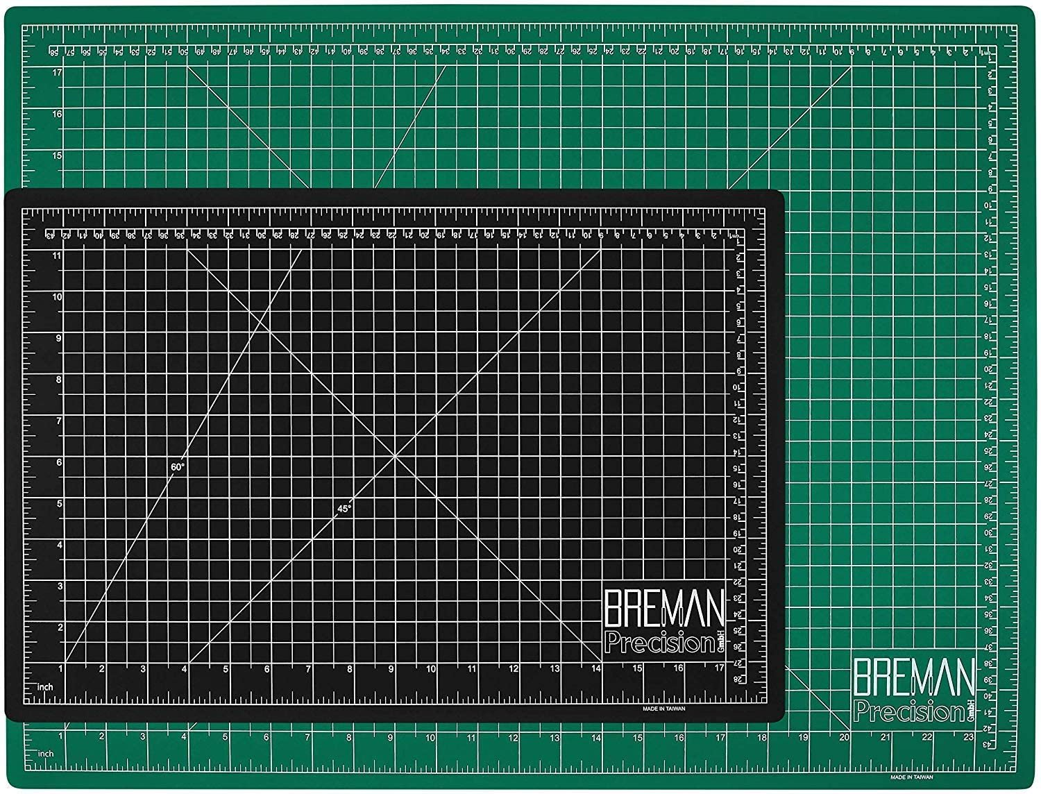 Breman Precision Self Healing Cutting Mat 5Ply Craft Mat with Grid 18x24in