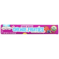 Torie And Howard Sour Chewie Fruities Stick Packs, Sour Berry, 2.1 Oz, Pack Of 18