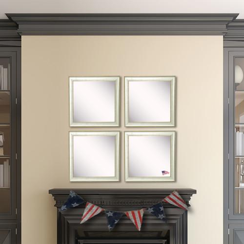 Wrought Studio Wanner Accent Mirror (Set of 4)