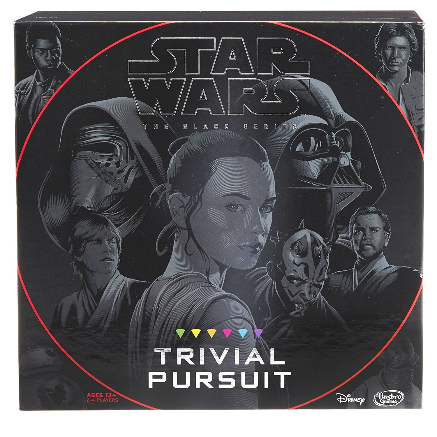 Trivial Pursuit: Star Wars The Black Series Edition, USA, Brand Hasbro by