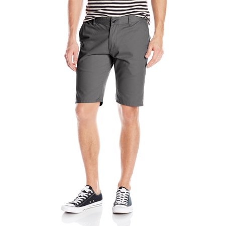 Quiksilver NEW Gray Mens Size 31 Flat-Front Everyday Chino Casual Shorts