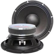 """Seismic Audio  - Pair of 8"""" Bass Guitar Raw WOOFERS Speaker Driver Replacements - Jolt-8Pair"""
