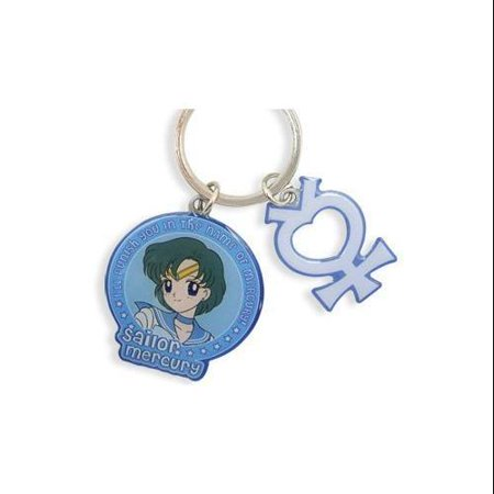 Key Chain - Sailor Moon - New Sailor Mercury and Symbol Toys Licensed ge5082