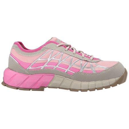 Caterpillar Women's Connexion Steel Toe Work Shoe, Feather Grey, 5 M - Caterpillar Work Shoes