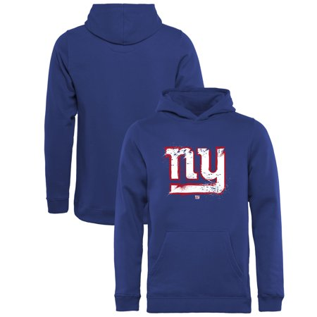 cheap for discount 37710 a7b99 New York Giants NFL Pro Line by Fanatics Branded Youth Splatter Logo  Pullover Hoodie - Royal - Walmart.com