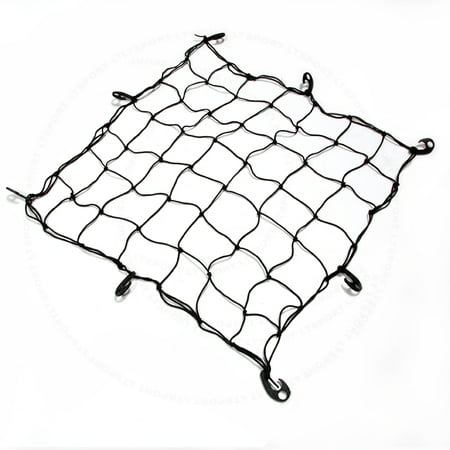 Fit Lincoln Cargo Net Expandable Carrier Rooftop or Rear Trunk Mount Elastic Rack Holder Storage Basket Organizer For MK