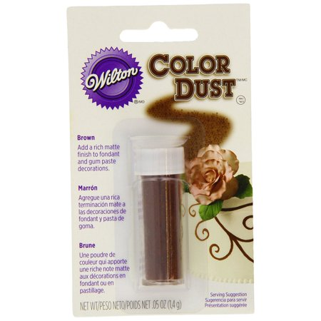 Wilton Color Dust (Wilton 703-106 Color Dust, Brown )