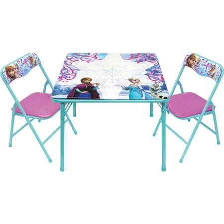 Disney Frozen Erasable Activity Table Set