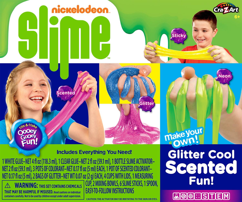 Cra-Z-Art Glitter Cool Slime Kit by LaRose Industries, LLC