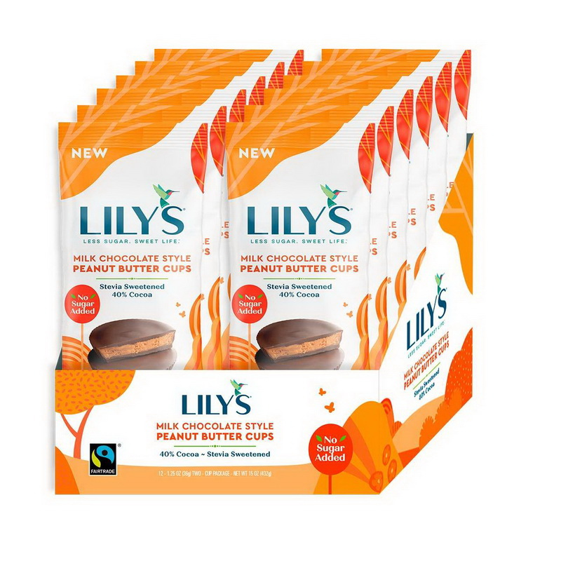 (Price/case)Lily's Sweets 1302 Milk Chocolate Peanut ...