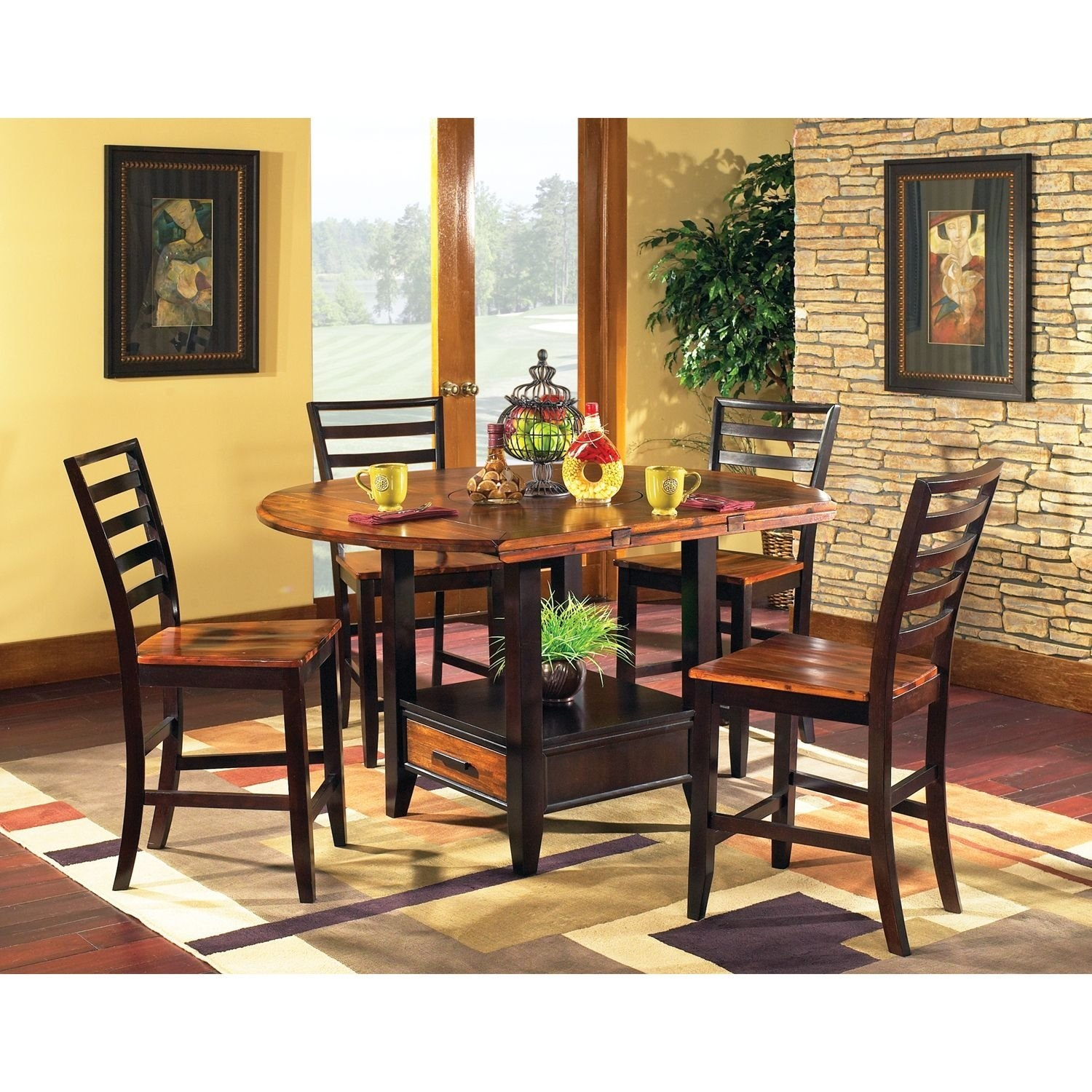 Steve Silver Counter Height Dining Set by Lauren Wells Pi...
