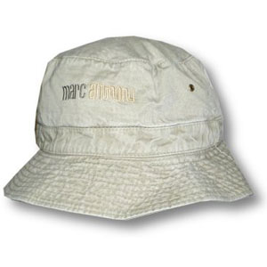 Marc Anthony Men's Logo Bucket Cap White
