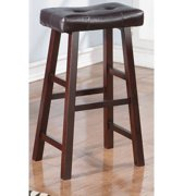 Charlton Home Rowe Wooden Bar Stool (Set of 2)