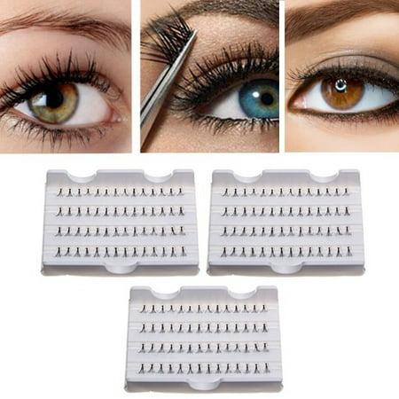 900fd1f1019 1 Pack Individual Makeup False Eyelash Cluster Eye Lashes Extension Tray 8/ 10/12mm - Walmart.com