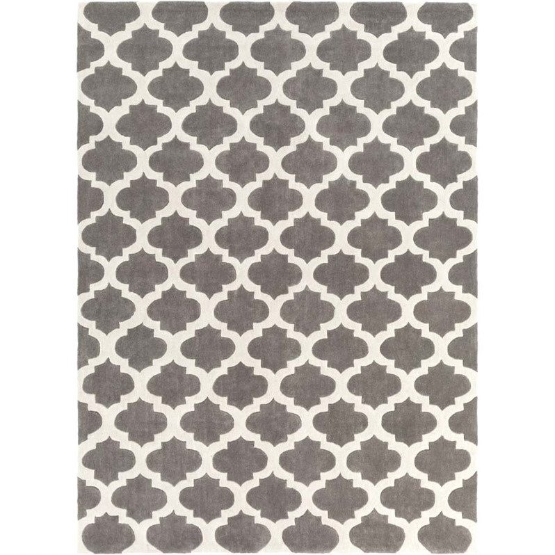 Surya Cosmopolitan 8' x 11' Hand Tufted Rug in Gray