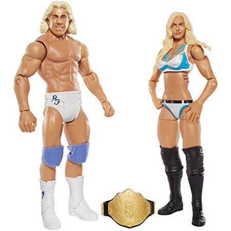 WWE Charlotte and Ric Flair Action Figure 2-Pack](Ric Flair Robe)