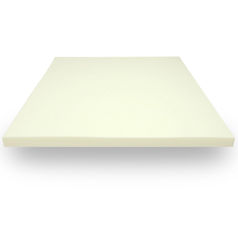 Classic Brands Memory Foam 2-Inch Mattress Topper, Twin XL