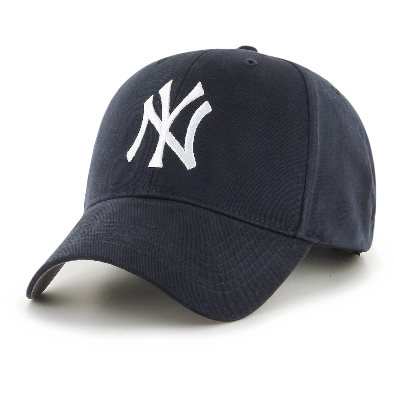 8557b4b000b93 Fan Favorite New York Yankees  47 Youth Basic Adjustable Hat - Navy - OSFA  - Walmart.com