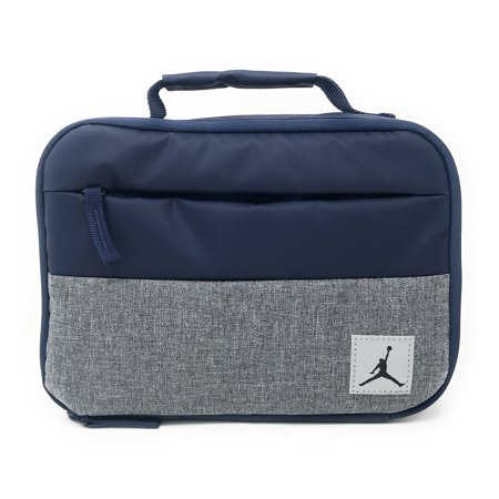 Nike Jordan Kids Pivot Fuel Pack Insulated Lunch Box, Midnight Navy