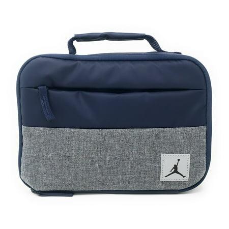 Nike Jordan Kids Pivot Fuel Pack Insulated Lunch Box, Midnight Navy