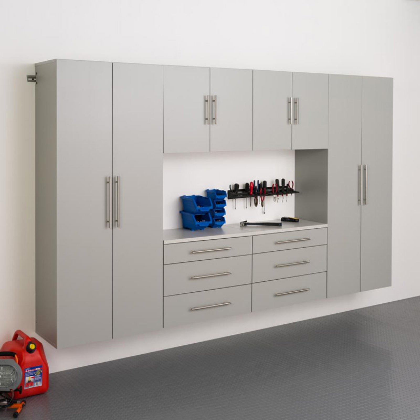 "HangUps 120"" Storage Cabinet Set I, 6-Piece"