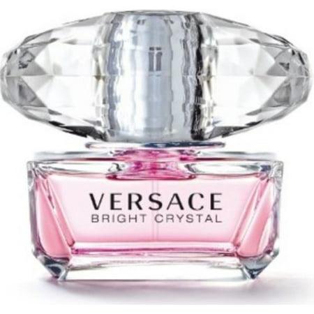 93f0b50e Versace Bright Crystal Eau De Toilette Spray, Perfume for Women, 1.7 Fl Oz