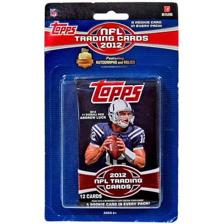 Nhl Trading Card (NFL 2012 Topps Football Cards Trading Card Pack [12 Cards] )