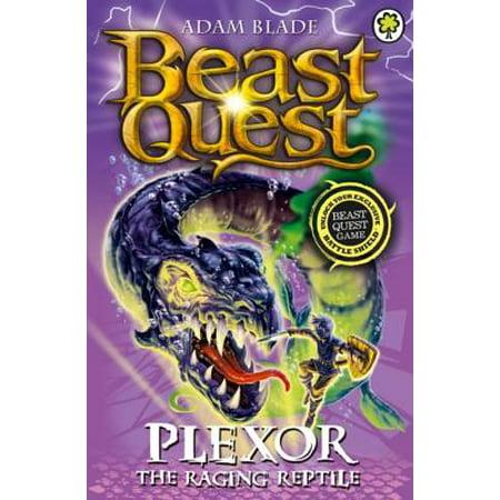 Plexor the Raging Reptile - eBook