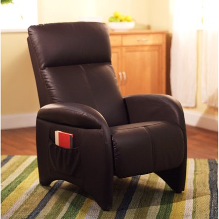 Astonishing Streamline Recliner Chocolate Faux Leather Gamerscity Chair Design For Home Gamerscityorg