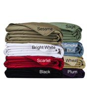 Cottonloft All Natural Down Alternative Cotton-filled Blanket Full/Queen, Wheat