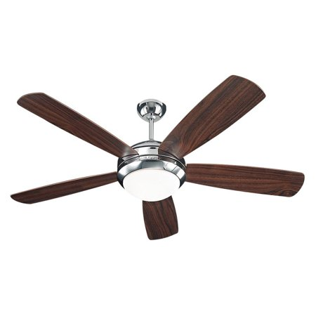 Monte Carlo 5DI52PND Discus 52 in. Indoor Ceiling Fan - Polished Nickel