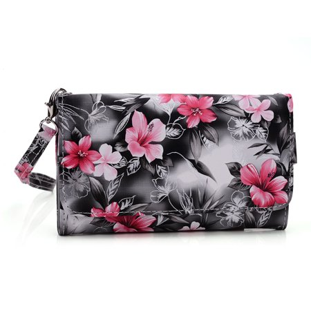 brand new b6d4a 05755 Wristlet wallet with cell phone holder