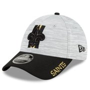 New Orleans Saints New Era Youth 2021 NFL Training Camp Official 9FORTY Adjustable Hat - Gray/Black - OSFA