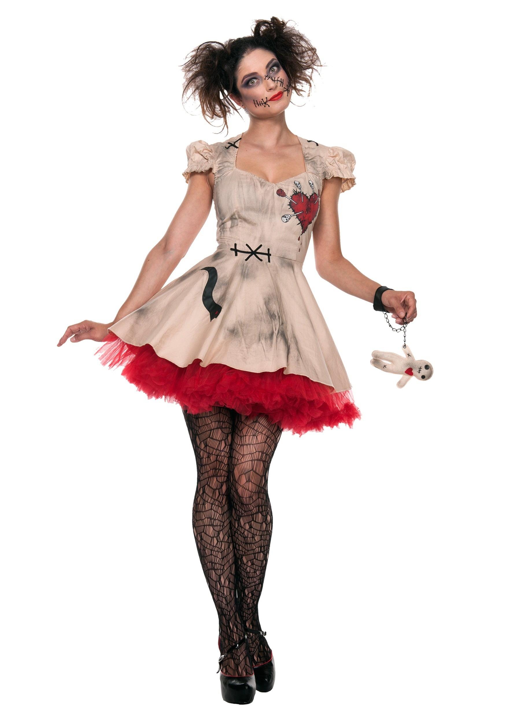 women's plus size voodoo doll costume - walmart