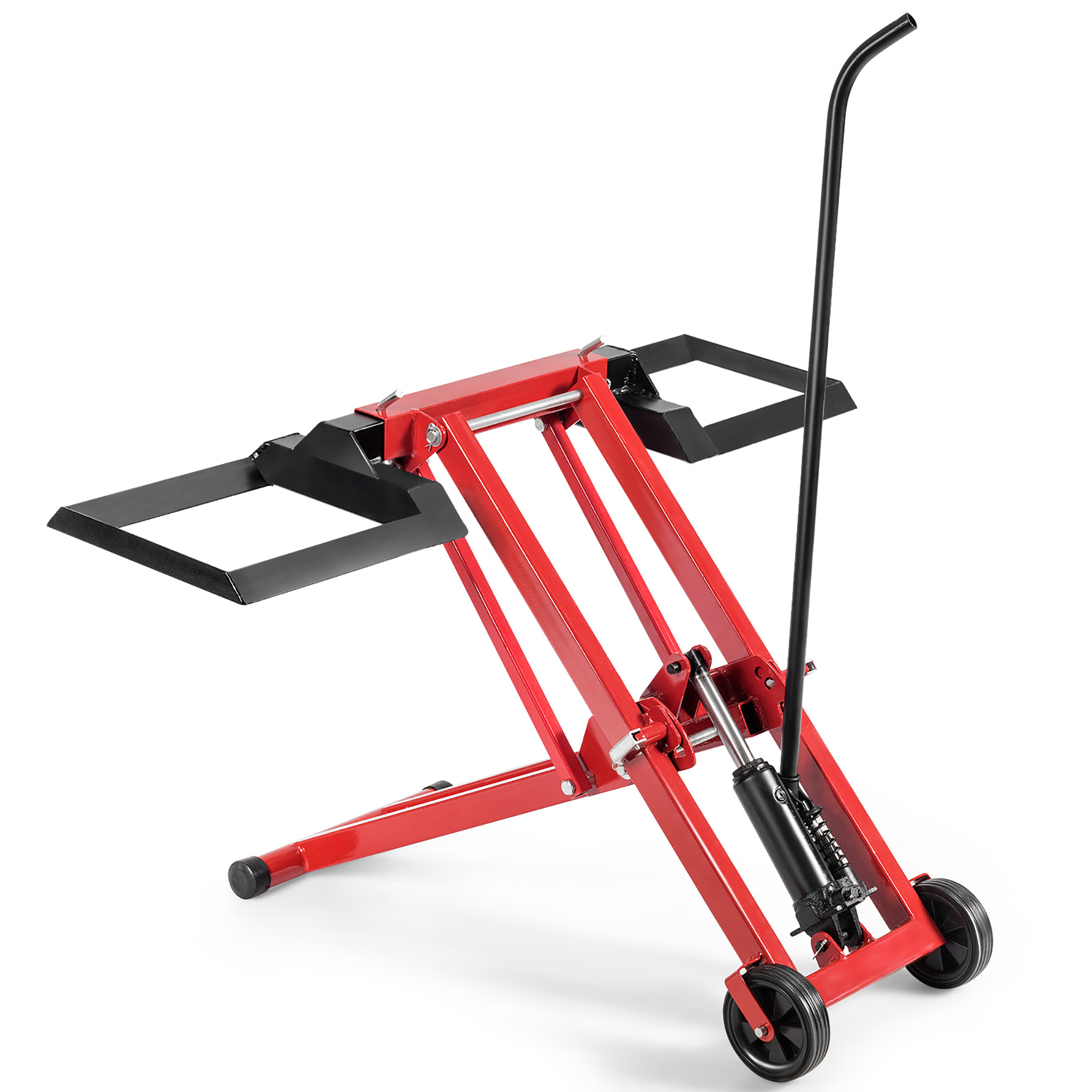 Lawn Mower Lift Jack for Tractors /& Zero Turn Riding Mowers Foldable on Wheels