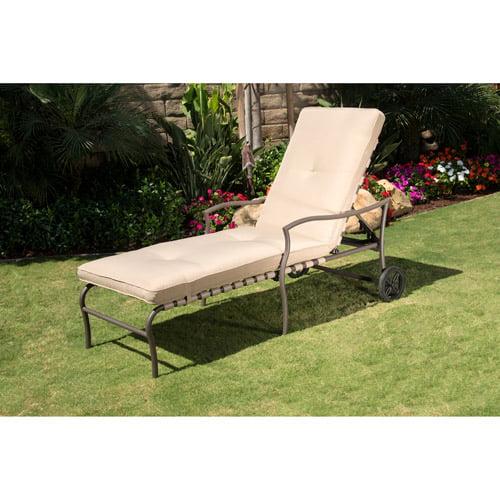 Palm Beach Chaise Lounge, Tan
