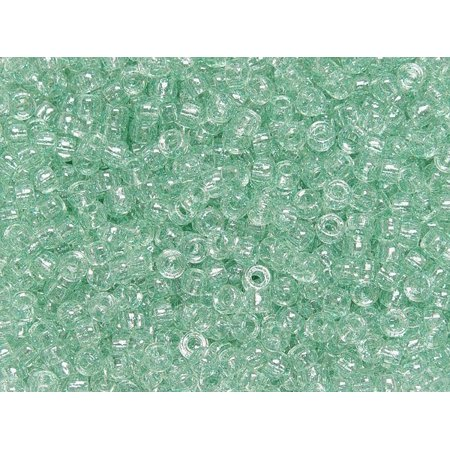 JOLLY STORE Crafts Green Glitter 7x4mm Mini Pony Beads 1000pc made in - Craft Online Store