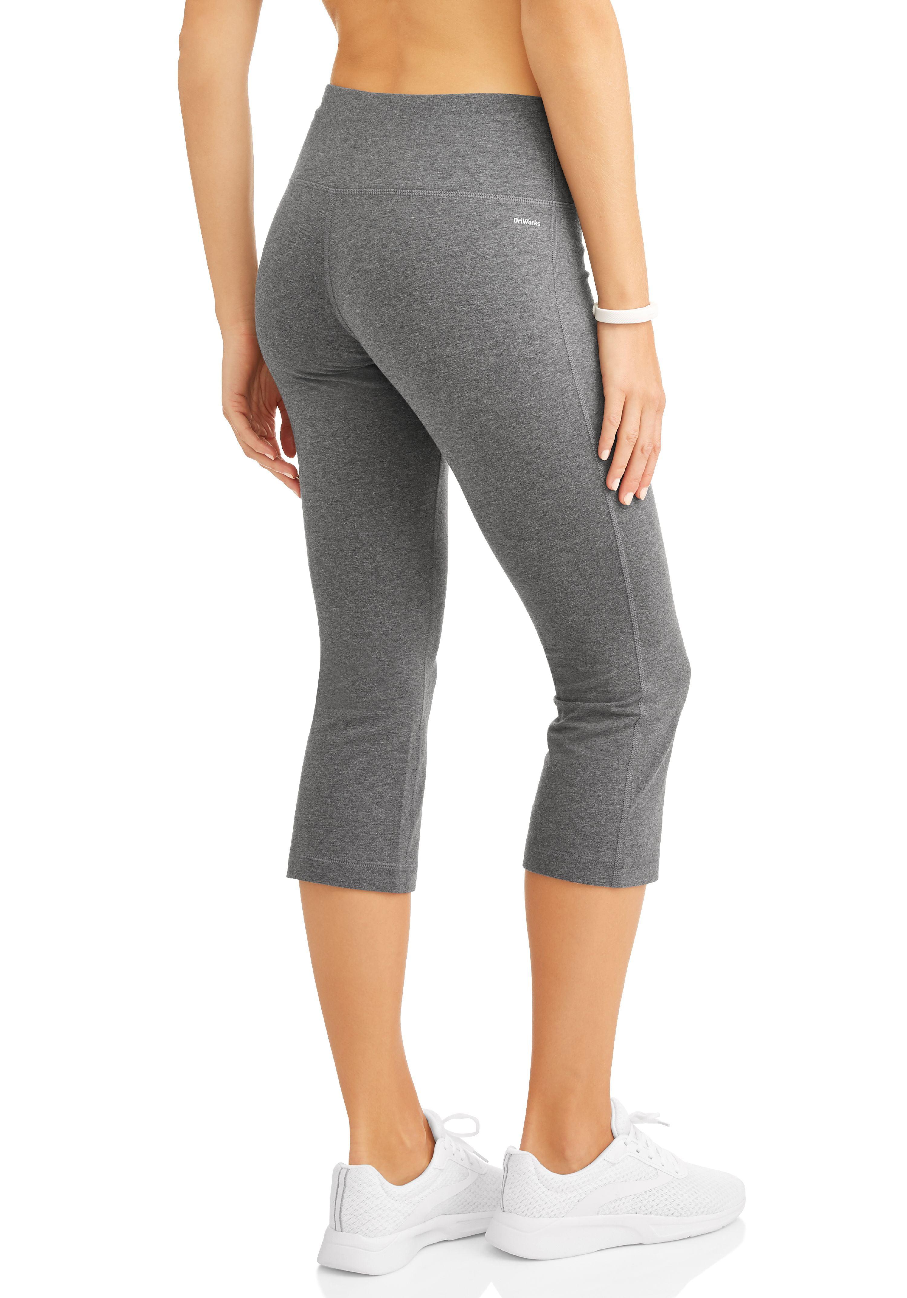 Athletic Works - Women's Active Core Yoga Capri Pant - Walmart.com