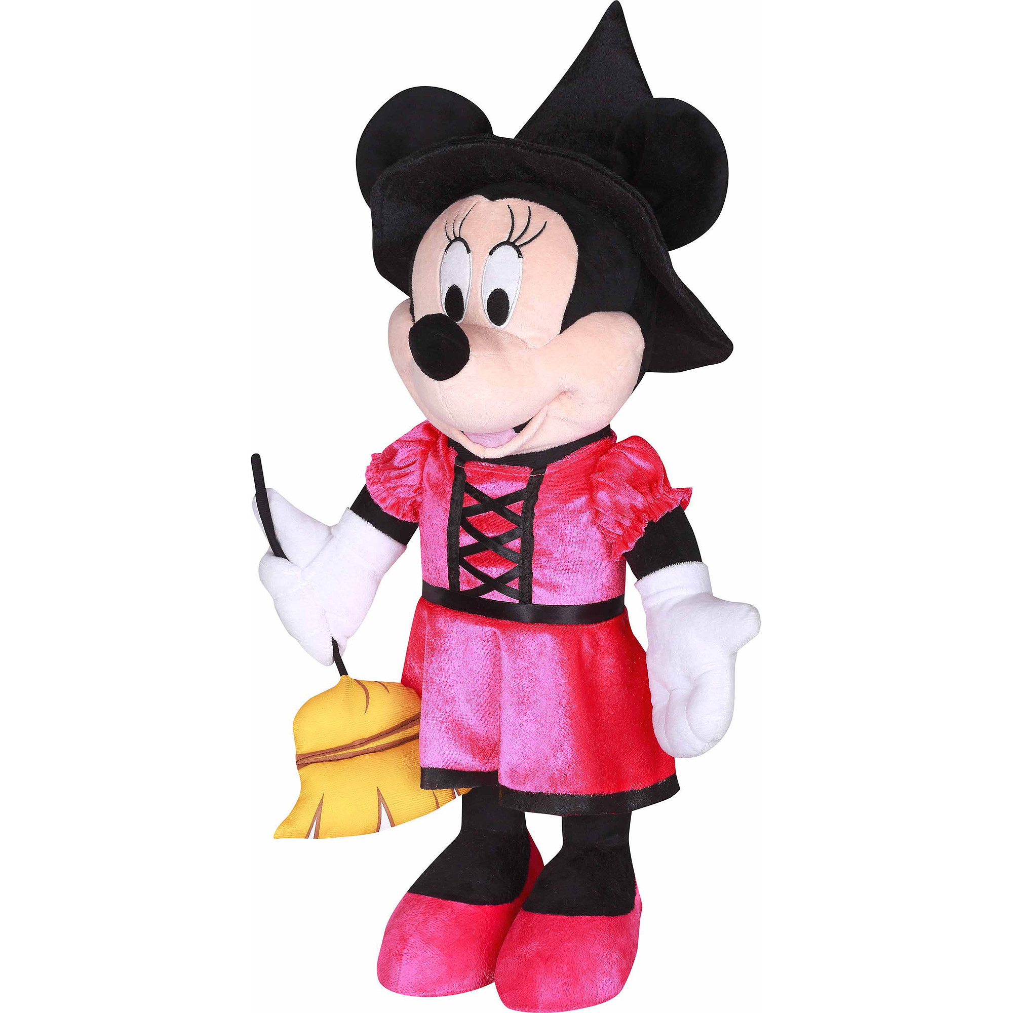 Disney Halloween Greeter, Minnie as Pink Witch