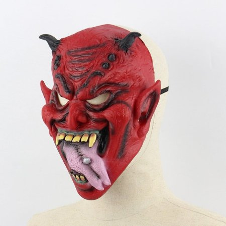 cnmodle Halloween Masks Horror Ghost Face Zombie Vampire Quilted Skin Party Mask - Horror Halloween Faces