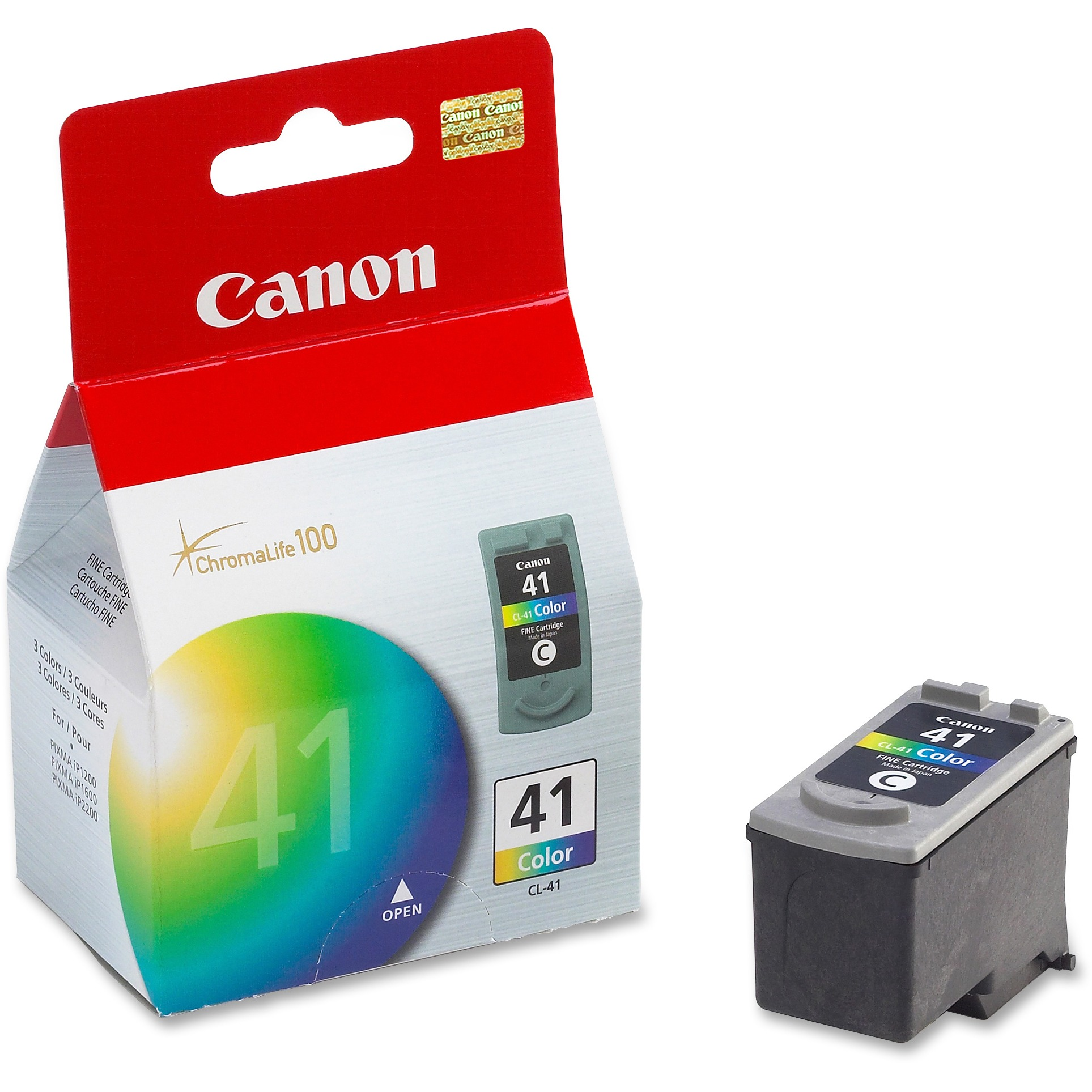 Canon CL-41 Original Ink Cartridge, 1 Each (Quantity)