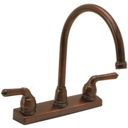 ProPlus Double Handle Kitchen Faucet
