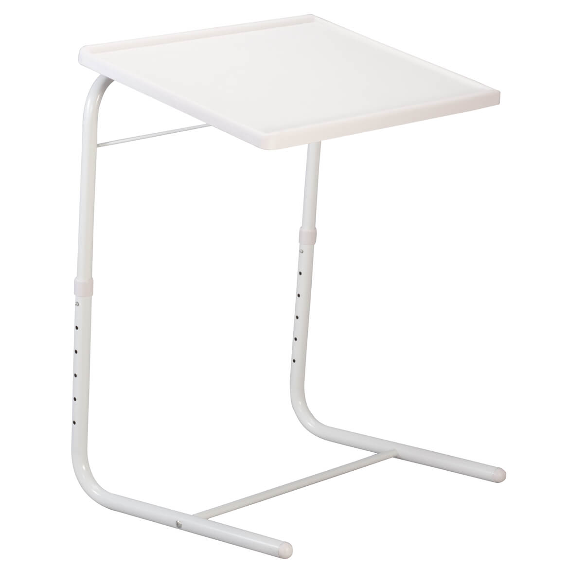 EasyComforts Adjustable Tray Table   White