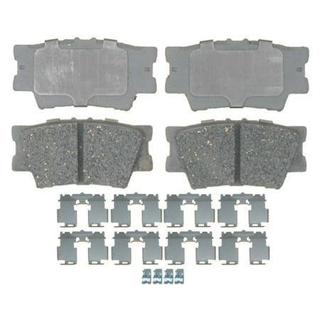 AC Delco 14D1212CH Brake Pad Set, Ceramic OE (Ac Delco Brake Pads And Rotors Review)